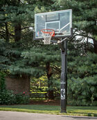 "Arena View® H Series 60"" Glass In-Ground Basketball Hoop"